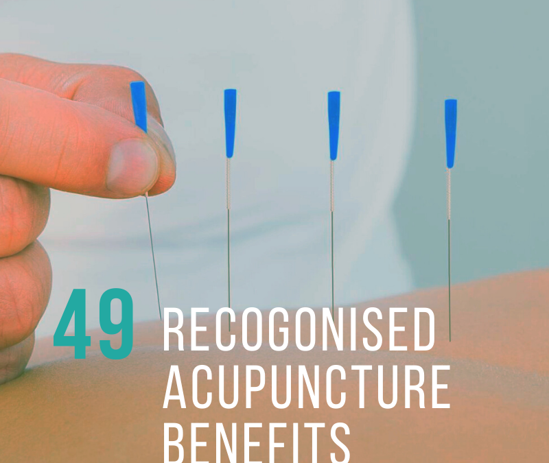 Benefits Of Acupuncture Formerly Recognised